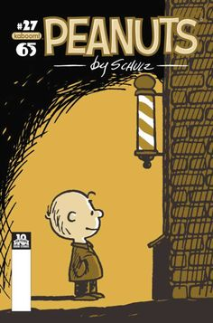 The cover of Peanuts Comic Book #27 by Boom! Studios. Art by Charles M. Schulz and design by Donna Almendrala and Scott Newman.