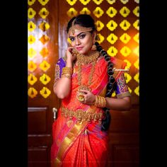 Tired of scrolling through a bunch of pages to find that perfect blouse designs? Check out the top most South Indian blouse designs to pair with a kanjeevaram saree- Eventila South Indian Blouse Designs, Blouse Neck Designs, South Indian Weddings, South Indian Bride, Tamil Wedding, Simple Sarees, Plain Saree, Colorful Fashion, Indian Fashion
