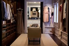 some day i will have my walk through closet to my master bath like Carrie Bradshaw! ~ someday . . .