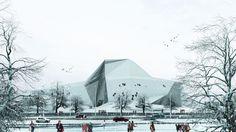 New Wave Architecture projeta espaço de escaladas no Irã