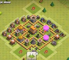 Top Best War Base, Farming, Hybrid and Trophy 2019 16 Clash Of Clans Game, Th 5, Town Hall, Base, Farming, Google Search, Wallpaper, Dogs, Wallpapers