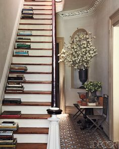 staircase. idea, stairs, stairway, dream, bookcas, hous, staircas, folding chairs, old books
