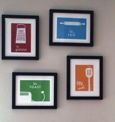 Colorful Kitchen Prints