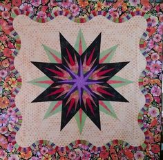 Vintage Compass, Quiltworx.com, Made by CI Connie Lange