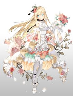 Pixiv Id 31085519 Image - Zerochan Anime Image Board Anime Chibi, Anime Girl Neko, Anime Art Girl, Manga Girl, Manga Anime, Anime Angel Girl, Chibi Girl, Anime Girls, Anime Style