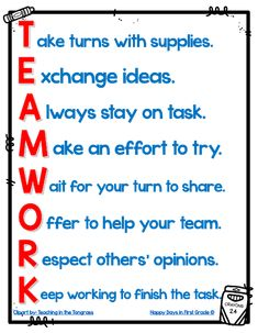 TEAMWORK Acrostic Poem Anchor Chart Games For Kids Classroom, Building Games For Kids, Classroom Rules, Classroom Door, Team Building, Classroom Discipline, Classroom Behavior, Acrostic Poem For Kids, Acrostic Poems