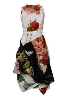 Eight Dress by Vivienne Westwood. Big floral print.