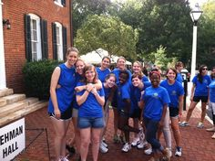 Students volunteer their time to serve on the Orientation Team each year, helping new students move to campus!