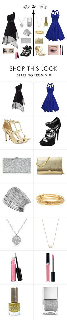 """""""What to Wear to a Gala??"""" by sparrow1496 ❤ liked on Polyvore featuring David Koma, Dee Keller, Milly, Michael Kors, Miss Selfridge, Kate Spade, Anne Sisteron, Kendra Scott, Laura Geller and Christian Dior"""