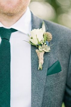 59 Boutonnieres Your Groom (and You!) Will Love – [pin_pinter_full_name] 59 Boutonnieres Your Groom (and You!) Will Love Groom buttonhole ideas we love Wedding Ties, Wedding Groom, Wedding Attire, Groom Wedding Accessories, Wedding Flower Arrangements, Wedding Flowers, Wedding Centerpieces, Perfect Wedding, Dream Wedding