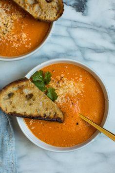 tomaat curry kokosmelk soep