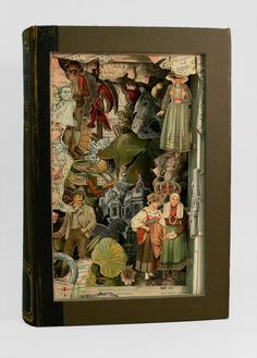 book dioramas