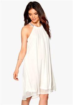 65adfa33bf90 b.young Hawin Dress Off White Hvid Kjole