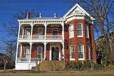 Baer House Inn Tour Home (Circa 1849-1870), Vicksburg, Mississippi.