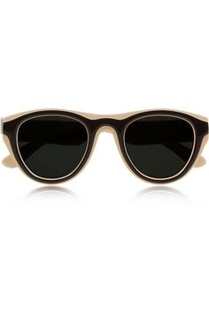 Maison Martin Margiela + Mykita two-tone sunglasses NET-A-PORTER.COM