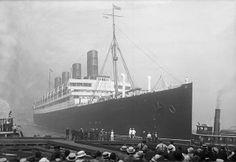 Cunard Line's magnificent Grand Old Lady Aquitania