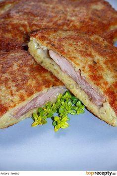 """Panenští Ondrášci"" from Valachia (North-East Moravia), Czechia No Salt Recipes, Pork Recipes, Czech Recipes, Hungarian Recipes, Sweet And Salty, Sandwiches, Good Food, Food And Drink, Potatoes"