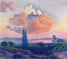 Henri Edmond Cross - Nuage rose