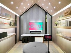 Sonos has provided a sneak peek into its first retail store, slated to open July 19 in New York City.