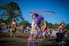 Hoopin' Bear at Gathering of the Vibes 2012. August J. Photography. I watched her hour for an hour.
