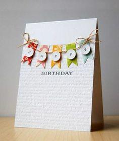 comment faire vous-memes une jolie carte d'anniversaire, carte anniversaire colorée