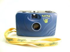Pokemon - Gotta catch 'em all! Pocket Cam – 35mm Film Camera Pikachu - SOLD -  Other items up for sale here! http://www.ebay.com/sch/pealfaro/m.html?_nkw=&_armrs=1&_from=&_ipg=&_trksid=p3686