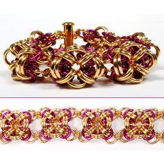 Chainmaille Bicubix Blocks Jewelry Tutorial @valerieaheck