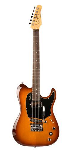 Godin Guitars Performance Series Session Custom TriplePlay™ Lightburst