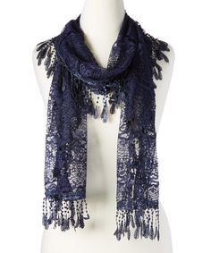 Light fabric with a fringed finish brings a fancy boho-inspired touch to your look.