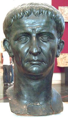 The emperor Claudius was born August 1, 10 BCE in what is known today as France, he reigned from January 24, 41 CE until his murder (probably by his wife) on October 13, 54 CE. Initially seen as of little value by his family due to minor physical ailments, he became emperor upon the assassination of his nephew, Caligula. In reality, he was an intelligent and shrewd, if sometime ruthless, emperor. He was succeeded by his last wife's son, who became the emperor Nero.