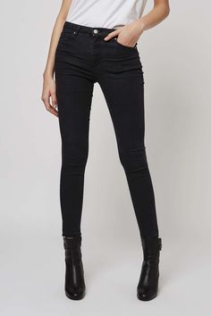 MOTO Washed Black Leigh Jeans