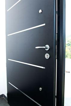 Porte d 39 entr e aluminium cotim 11 par zilten porte d for Porte zilten cotim 11