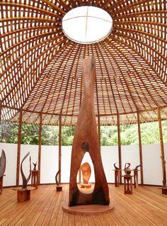 Charles Bello: architect, sculptor      whoa