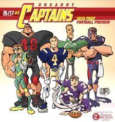 #UncannyCaptains was @turktank's idea to take one player from each local #highschoolfootball team and bring them together on the cover like #uncannyxmen. So I did.  #footballHARO #blitz #theblitz  Tag yourself if you are on this cover.  #comicartist #turlocktoonskwad #makingcomics #clipstudiopaint #HaroldGeorge #HaroArtist #sketchtimewithHARO #originalcharacter #oc #comics #sketchbook #blulinesdotcom #turlockart #209magazine #xmen #marvel #marvelcomics @ths_bulldog_football @ths_bulldogs…