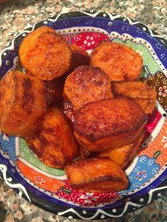 Cinnamon and coconut oil sweetest potato