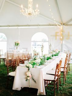 I am thinking 2 long tables - What do you think?