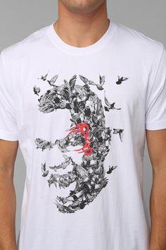 Staple Raging Pigeon Tee  urbanoutfitters Camisetas Masculinas e9e720d83b5