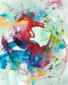 Nieuw in mijn Werk aan de Muur shop: ful colors, Ingeborg Herckenrath