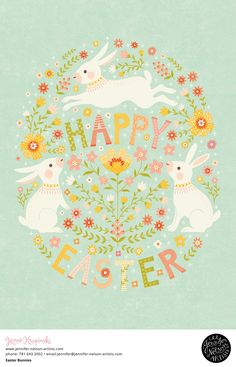 Happy easter everyone! easter bunnies artlicensing artwork illustration watercolor happy easter clipart digital bunnies illustration nursery bunny and rabbit watercolour cute animals easter illustration cards Easter Art, Hoppy Easter, Easter Crafts, Easter Bunny, Illustration Inspiration, Easter Illustration, Easter Wallpaper, Bunny Nursery, Happy Easter Everyone