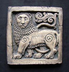 回  Tile o Phile  回   Lion tile