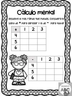 Preschool Worksheets, Preschool Learning, Math Activities, Teaching, First Grade Curriculum, Math Exercises, Math Sheets, Go Math, Leader In Me