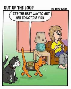 """) Introducing """"Out of the Loop"""" — a new Lion Brand Yarn comic created by Todd Clark funny for all knitting and wool obsessed Crochet Quotes, Knitting Quotes, Knitting Humor, Crochet Humor, Knit Or Crochet, Crochet Crafts, Yarn Crafts, Knitting Yarn, Knitting Projects"""