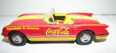 Coca-Cola 1953 Corvette Dicast Car