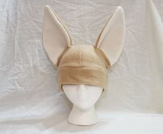Fennec Fox Hat - 23 and 25 inches