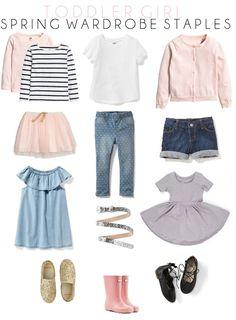 Toddler Spring Wardrobe Staples // Toddler Spring Fashion // Life as a Noel Blog