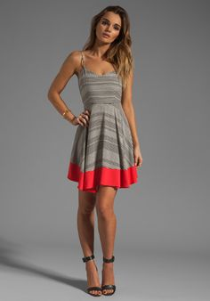 Dresses are abasolutely imperative for summer time! They are easy, versatile, and make you feel good :) This dress in particular is great because with flats you can wear it anywhere during the day and with heels you can wear it out at night!