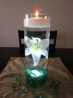 Idee met kaarsen
