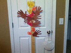 Handprint Thanksgiving Tree