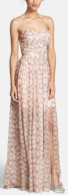 different for a bridesmaids dress...adds texture