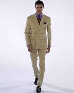 See Ralph Lauren Purple Label's Spring2016 Collection | GQ